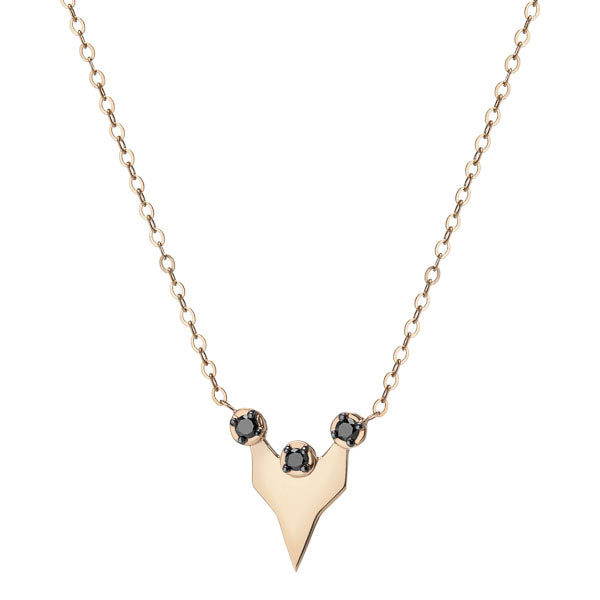 Gillian Steinhardt 14k Gold Le Fou Necklace