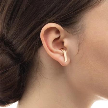 Hirotaka Wide Inner Hook Earring