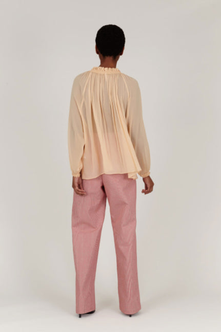 INDRESS Ophelie Blouse in Nude