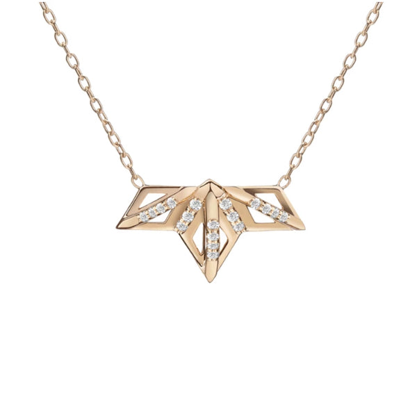 Gillian Steinhardt 14k Gold Queen P Necklace
