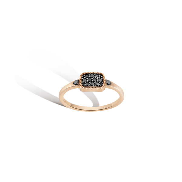 Gillian Steinhardt Black Diamond Teatro Pave Ring