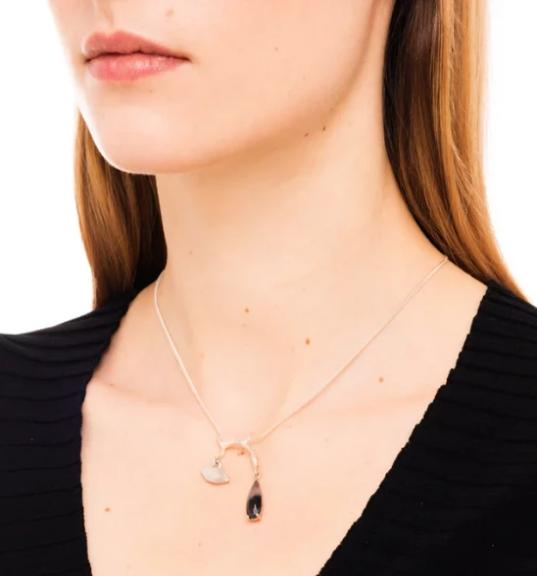Wouters & Hendrix Tourmaline Branch and Lips Necklace