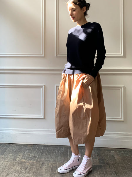 Mina Perhonen Papier Skirt in Brown