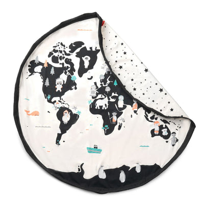 Sac de rangement 2 en 1 Play&Go - World map