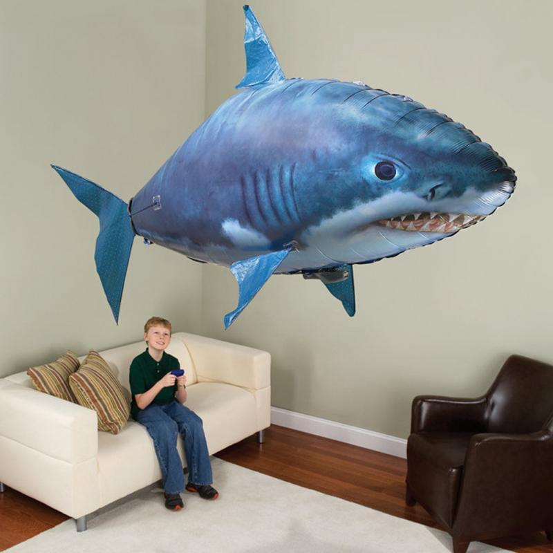 Flying Shark™ - The Remote Controlled Fish Blimp