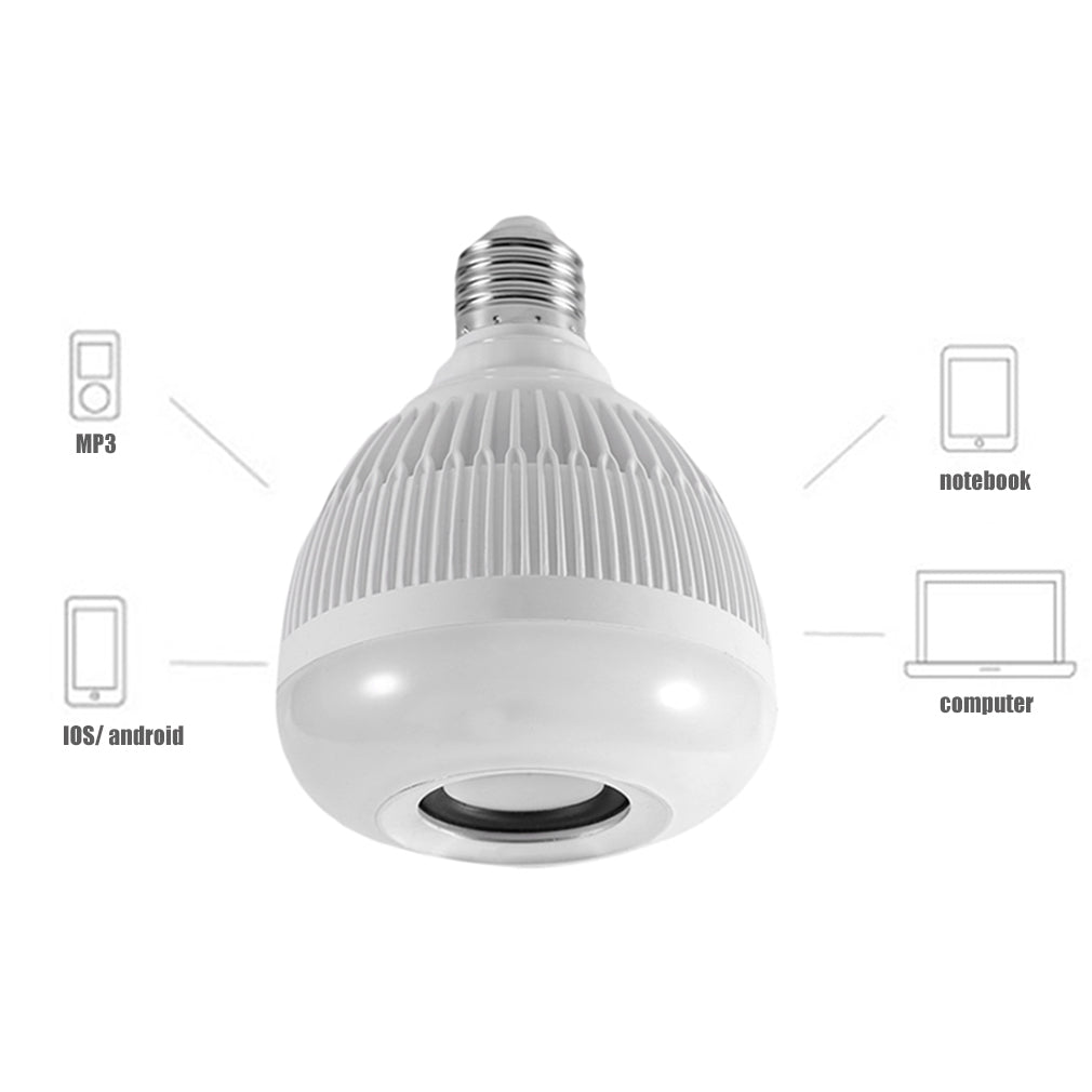 Bluetooth Stereo Speaker color changing Bulb