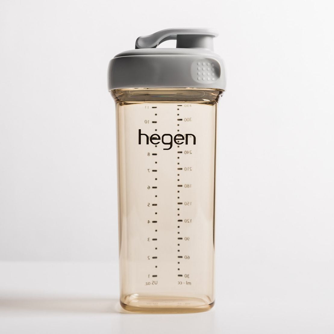 Hegen PCTO 330ml Drinking Bottle PPSU Grey