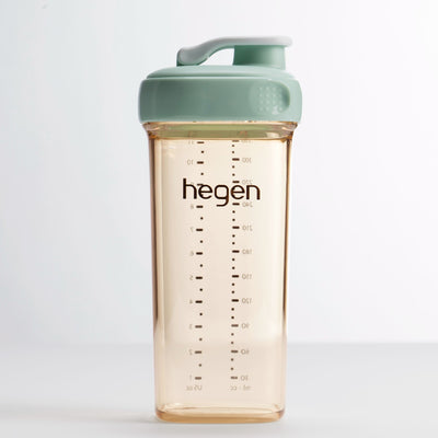 Hegen PCTO 330ml Drinking Bottle PPSU Green