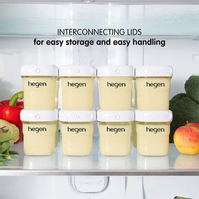 Hegen PCTO 240ml Breast Milk Storage PPSU (2-pack)