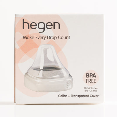 Hegen PCTO Collar and Transparent Cover White