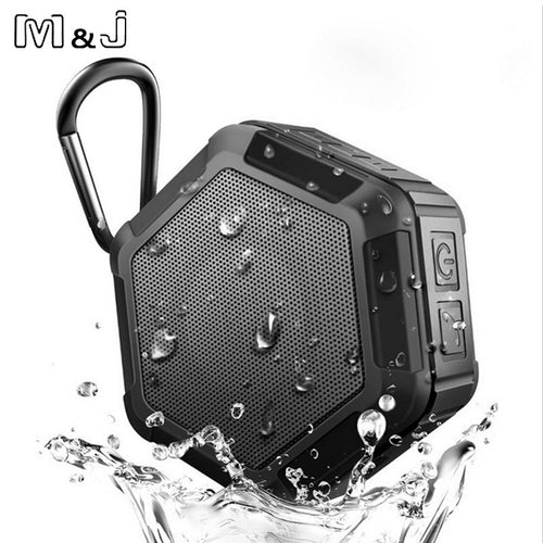 M&J M5 Bluetooth Speaker IP65 Waterproof For Outdoors And Indoors
