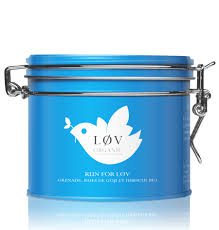 LØV ORGANIC Run for Lov tins
