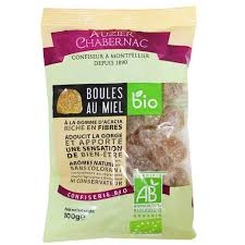 Auzier Chabernac Organic honey gum drops