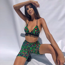 Green Leopard Set