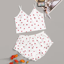 Polka Heart PJ Set