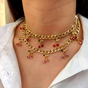 Blooming Cherry Choker