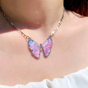Galaxy Butterfly Necklace