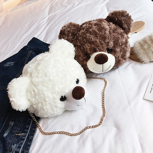 Teddy Head Bag