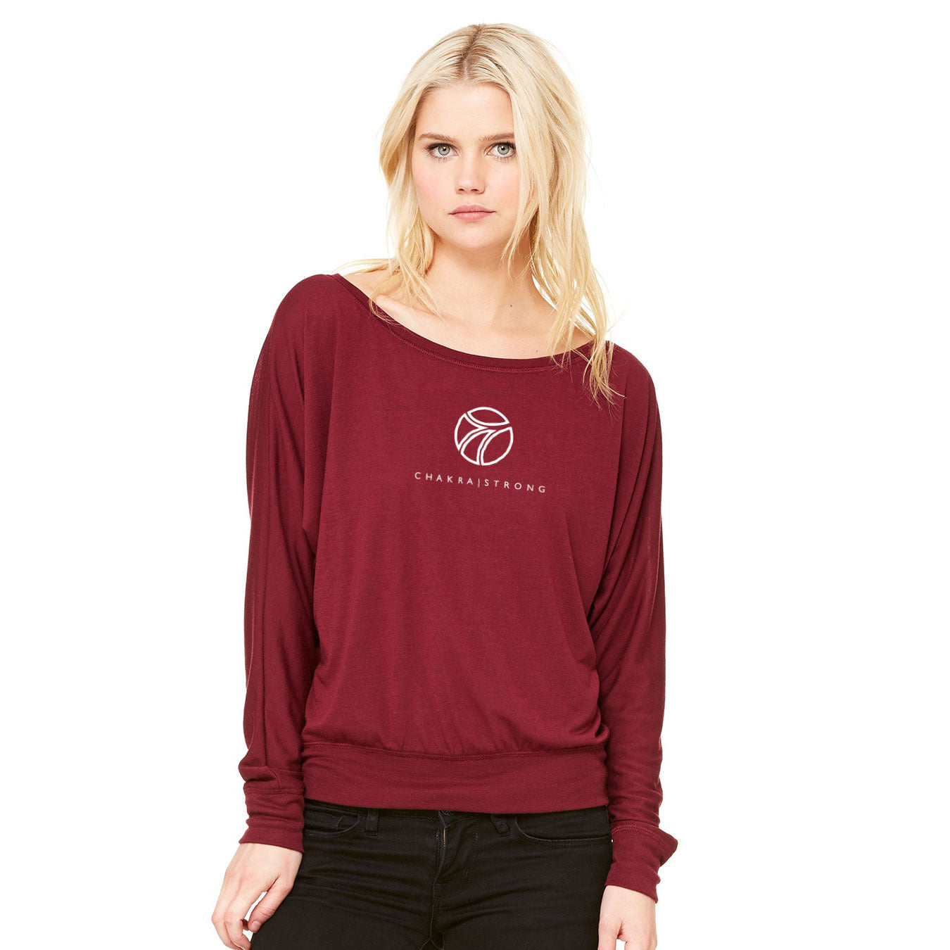 Chakra|Tee Long Sleeve Off the Shoulder