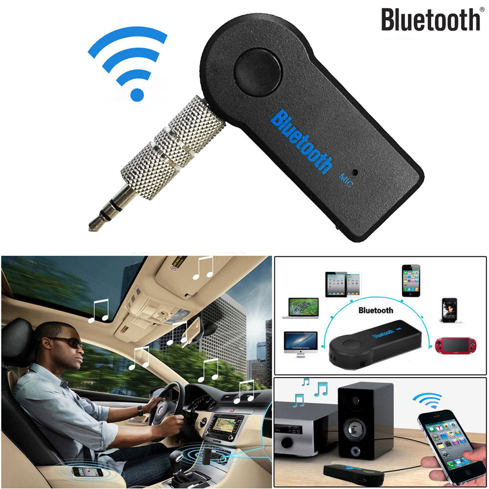 Wireless Bluetooth Aux Receiver With Mic