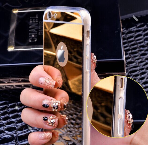 Luxury Mirror Fashion Case For iPhones 5, 5s, SE, 6, 6s, 6 Plus, 7, 7 Plus