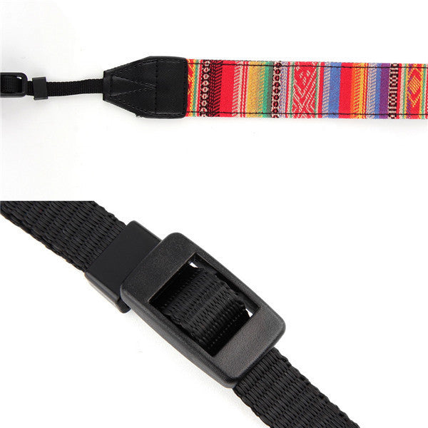 Eccentric Shoulder or Neck Strap for DSLR Cameras