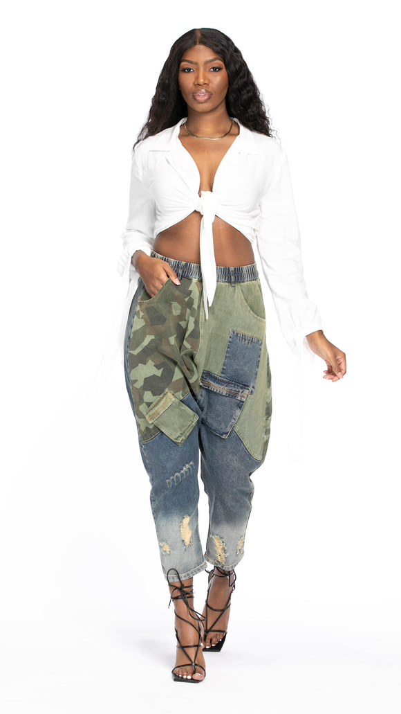 Camo Harem Pants - The Style Guru