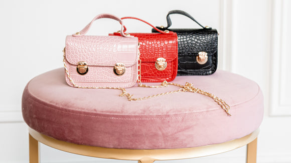 MINI Croc Handbags - The Style Guru
