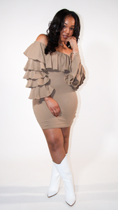 Tier Ruffle Dress - The Style Guru