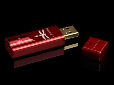 Audioquest Dragonfly Red USB DAC & Preamp & Headphone Amp
