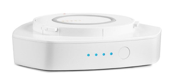 Denon Heos 1 Go Pack System. Colour: White.