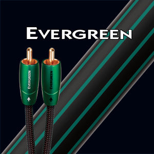 Audioquest Evergreen Analog Audio Interconnect Cable (3.5mm Mini M to RCAs)