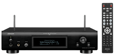 Denon DNP-800NE Network Audio Player with HEOS & AirPlay 2. Colour: Black.