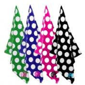 Polka Dot Monogrammed Beach Towel - Good Quality- Great Gift!