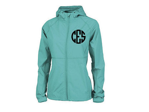 Monogrammed Charles River Womens Latitude Jacket
