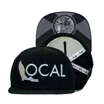 Blacked Out Halfmast Snapback