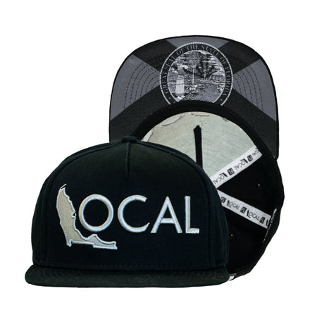 14945bcb09a Blacked Out Halfmast Snapback