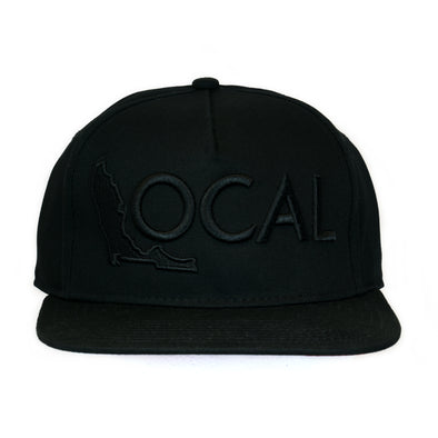 FL Local Black/Black Snapback