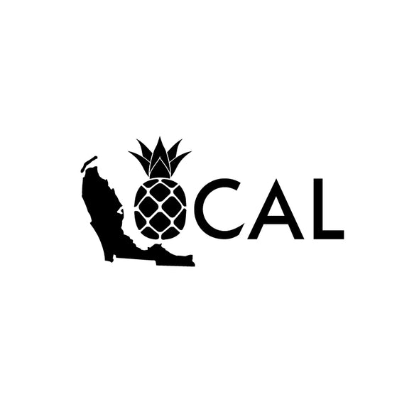 Pineapple Local Decal