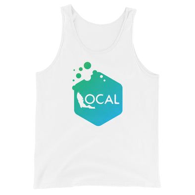 FL Local Ladies Tank Top - Bubble Hex