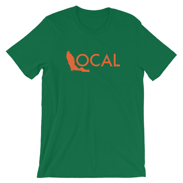 FL Local T-Shirt - Green / Orange Logo