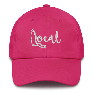 FL Local Baseball Cap - White Cursive Logo