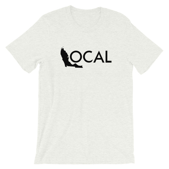 FL Local T-Shirt - Ash White / Black Logo