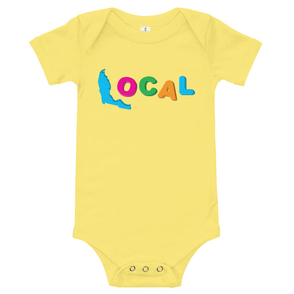 FL Local Baby Bodysuit - Magnet Letters