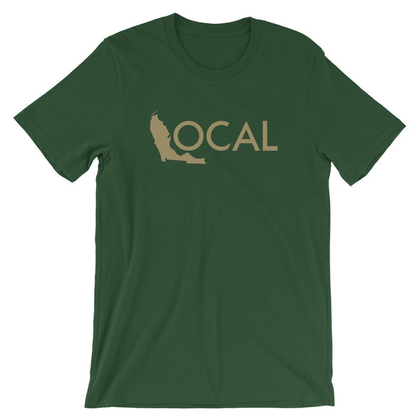 FL Local T-Shirt - Forest / Gold Logo