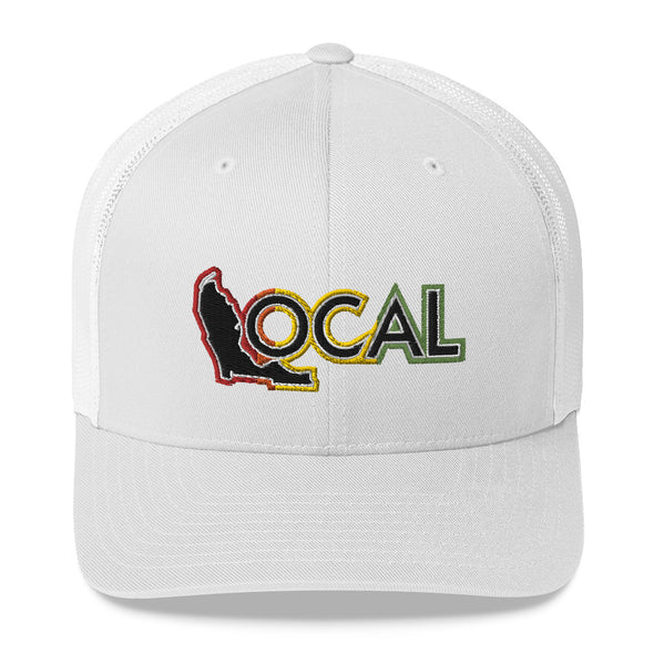 FL Local Trucker Cap - Rasta