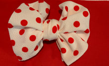White & Red Polka Dots