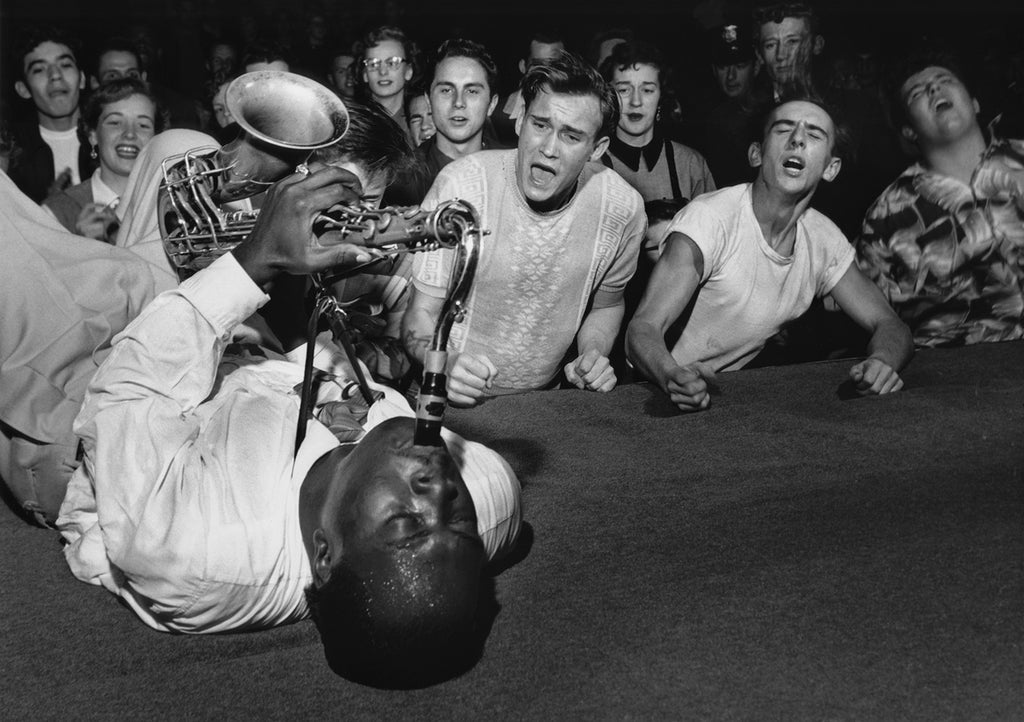 Big Jay McNeely Olympic Auditorium 1951 Bob Willoughby