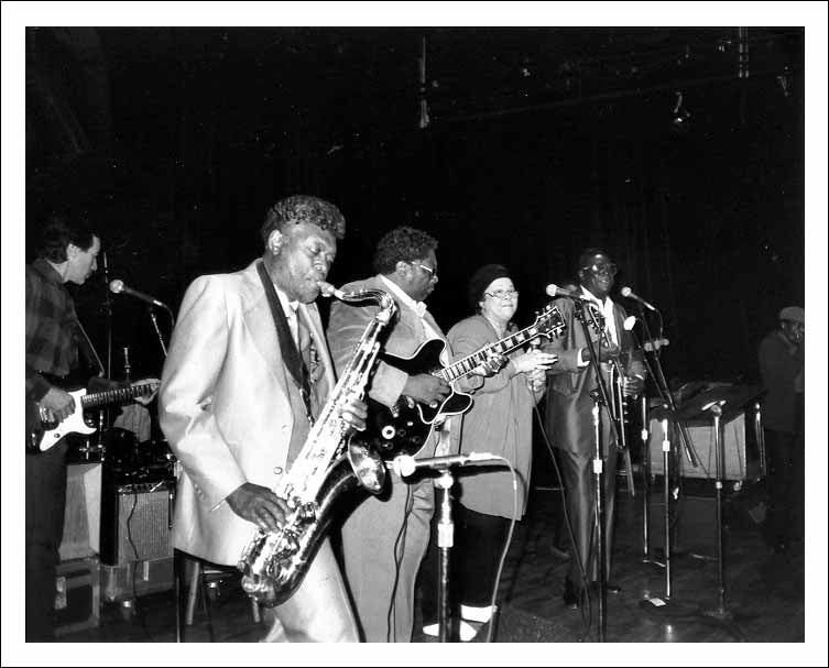 Big Jay McNeely B.B. King Etta James, Albert King Grammy awards