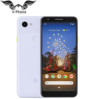 2019 Brand New Google Pixel 3A Mobile Phone 4G LTE 4GB RAM 64GB ROM 5.6 inch Snapdragon 670 Octa Core 12.2MP 8MP NFC Smartphone